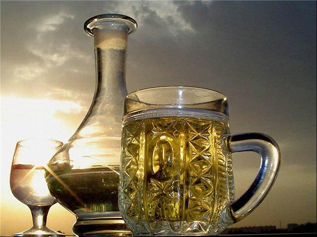 Содержание этилового спирта в пиве