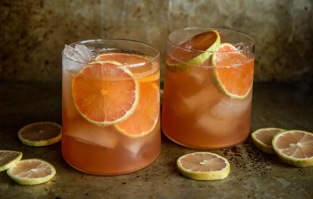 Виски с грейпфрутом