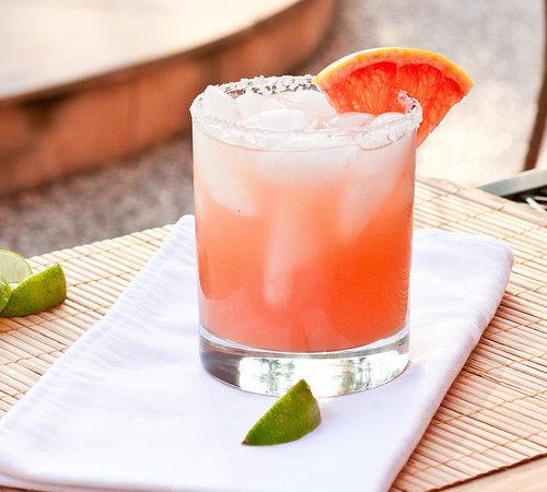 Коктейль Виски с грейпфрутом