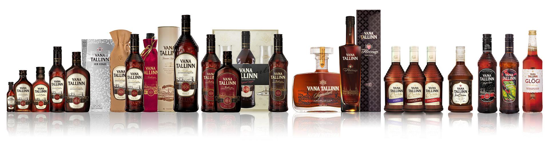 Ликер Вана Таллин (Vana Tallinn)