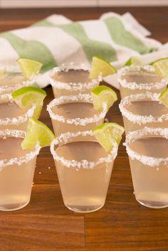 Алкогольные желе-шоты Маргарита (Alco jelly shots Margarita)