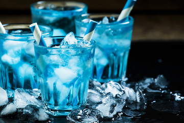 Коктейль Голубой Камикадзе (Blue Kamikaze)