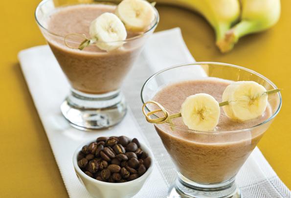 Бананово-кофейный смузи