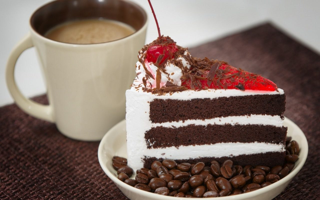Шварцвальдский кофе  и торт