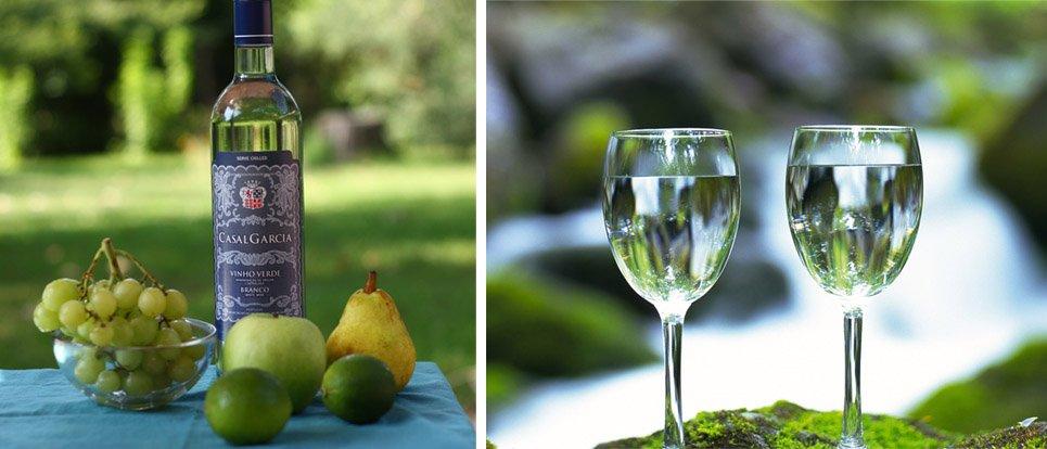 Зеленое вино Португальское