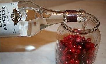 Наливка вишневая с водкой