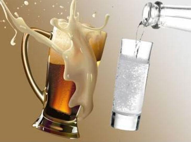 Что лучше пить пиво или водку?