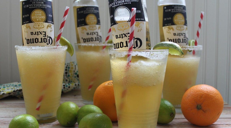 Цитрусовый пивной коктейль