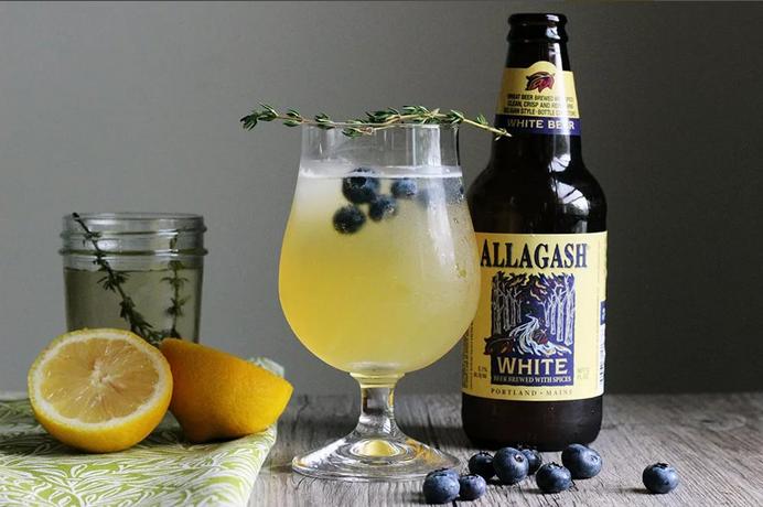 Лимонно-пивной коктейль