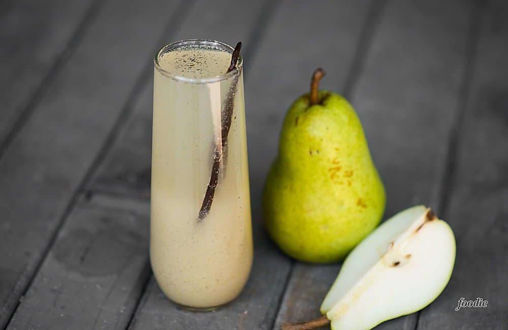 Ванильно-грушевый коктейль
