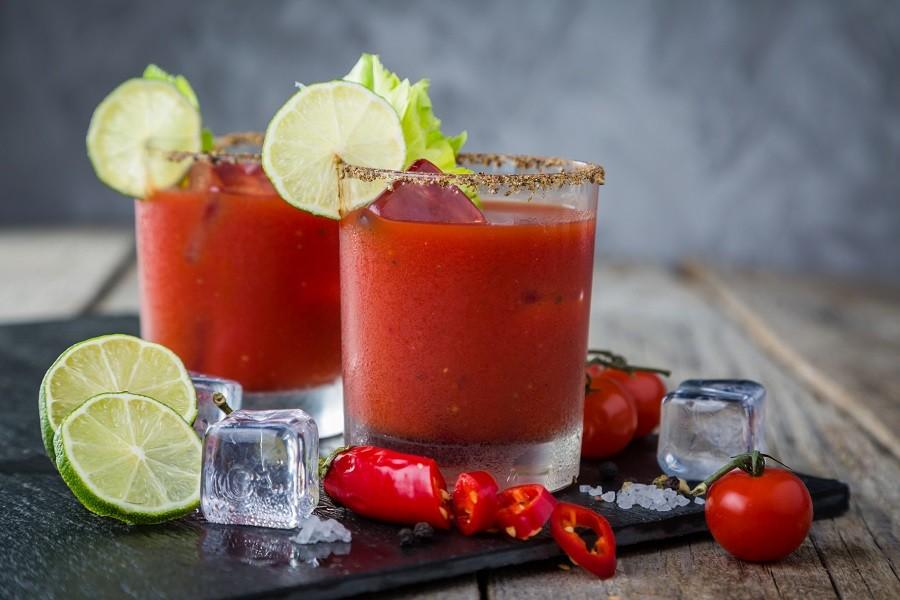 Коктейль Кровавая Мери с лаймом (Lime Bloody Mary)
