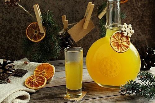 Домашний ликер из апельсинов