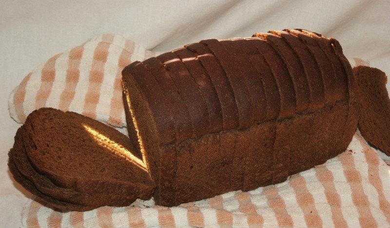 Очистка самогона ржаным черным хлебом