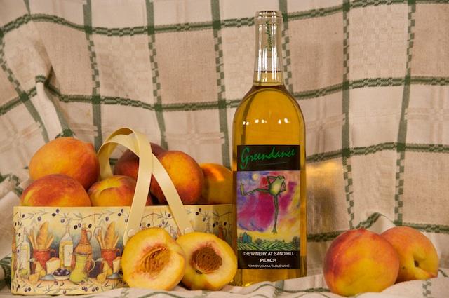 Как сделать домашнее вино из персиков
