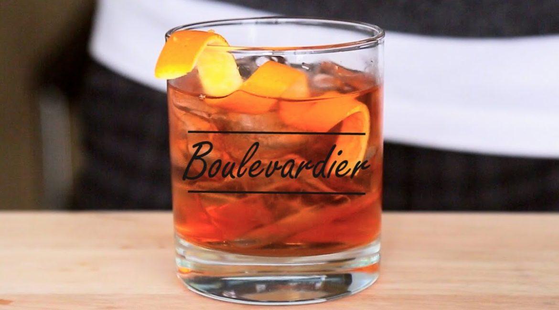 Коктейль Бульвадер (Cocktail Boulevardier)