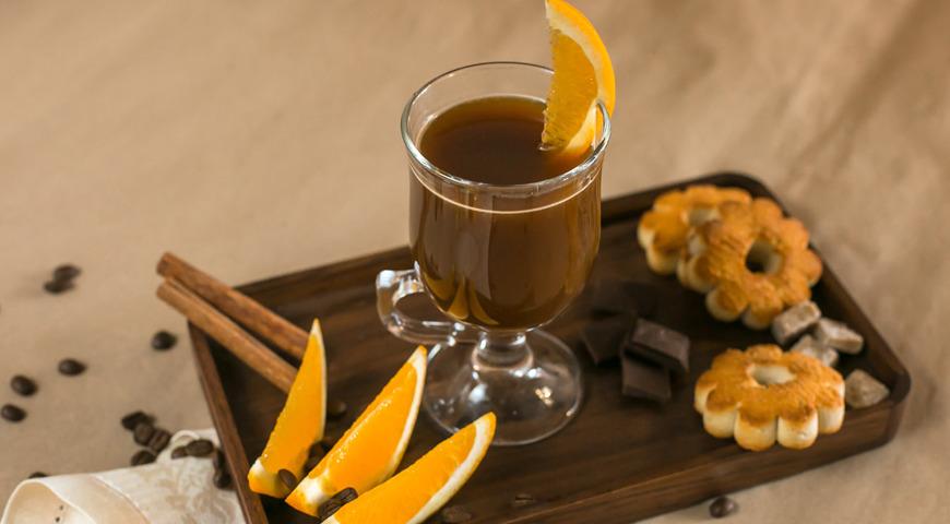 Апельсиновый бельгийский кофе
