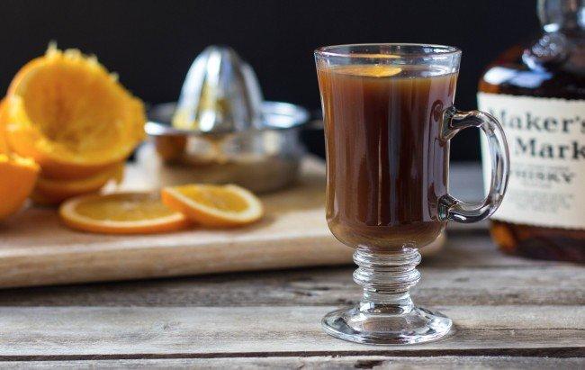 Пряный кофе с бурбоном