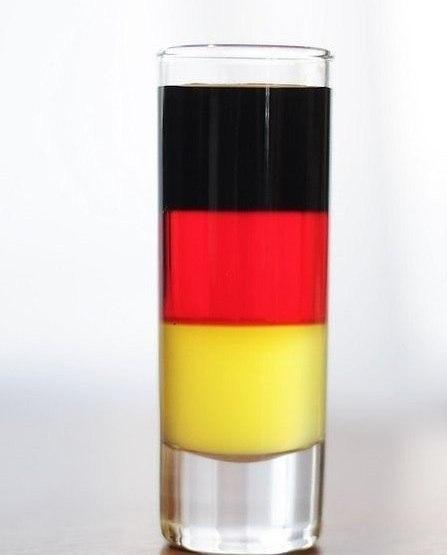 Коктейль Немецкий флаг (Коктейль Germany Flag)