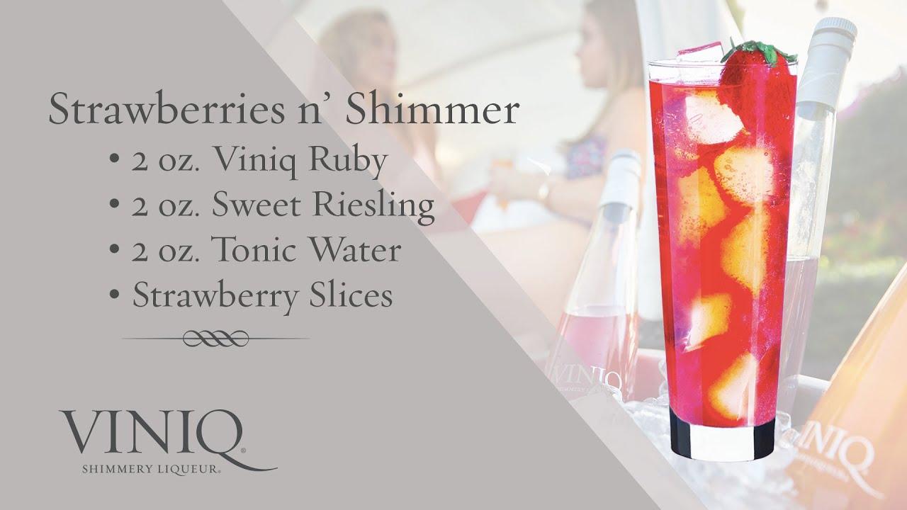 Коктейль Strawberries Shimmer