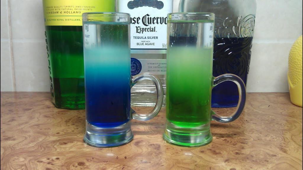 Шот Синий мексиканец (Shot Blue Mexican)