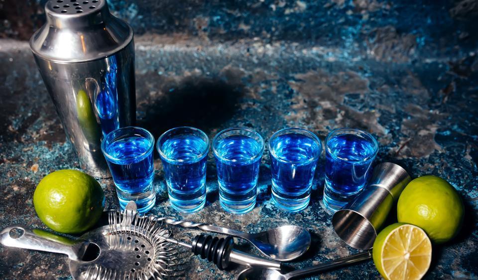 Шот Синий мексиканец