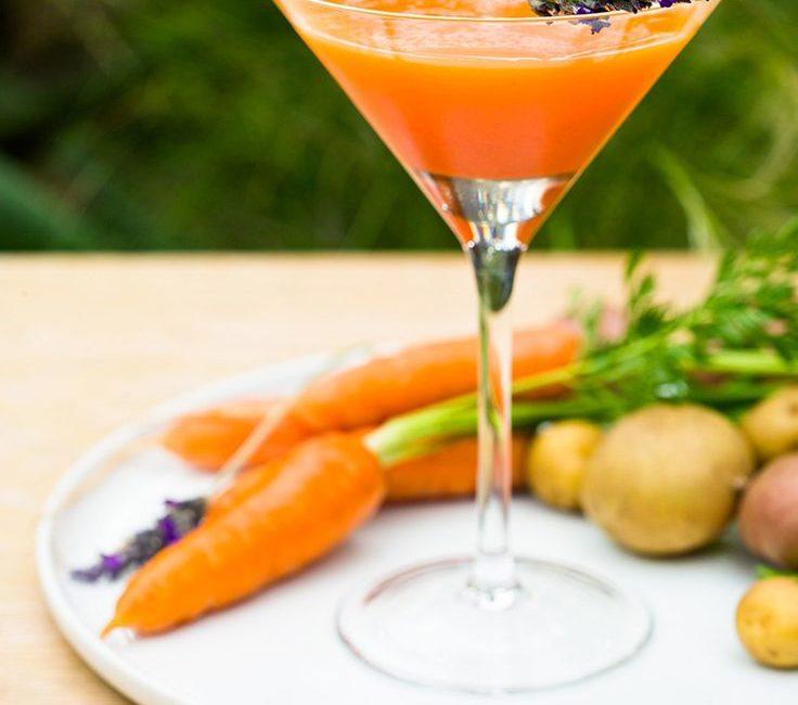 Коктейль Морковный Мартини