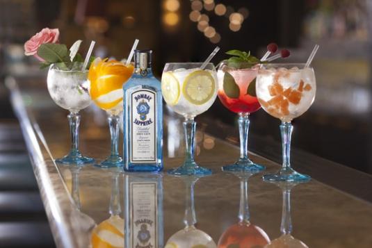 Вкусные коктейли на основе джина