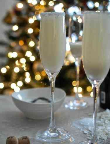 Кокосовое шампанское