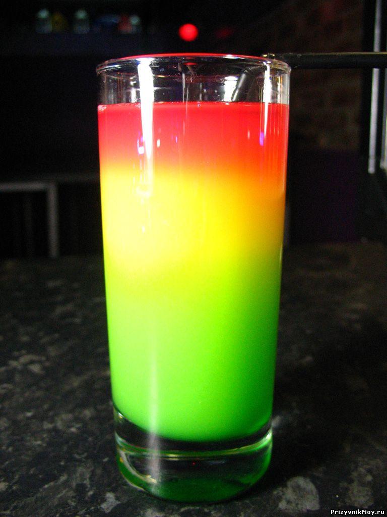 Безалкогольный коктейль Светофор