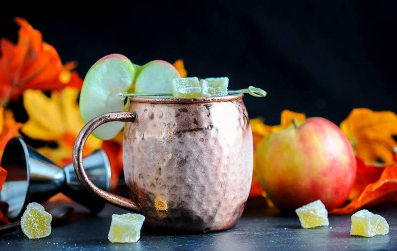 Кленово-яблочный мул на сидре