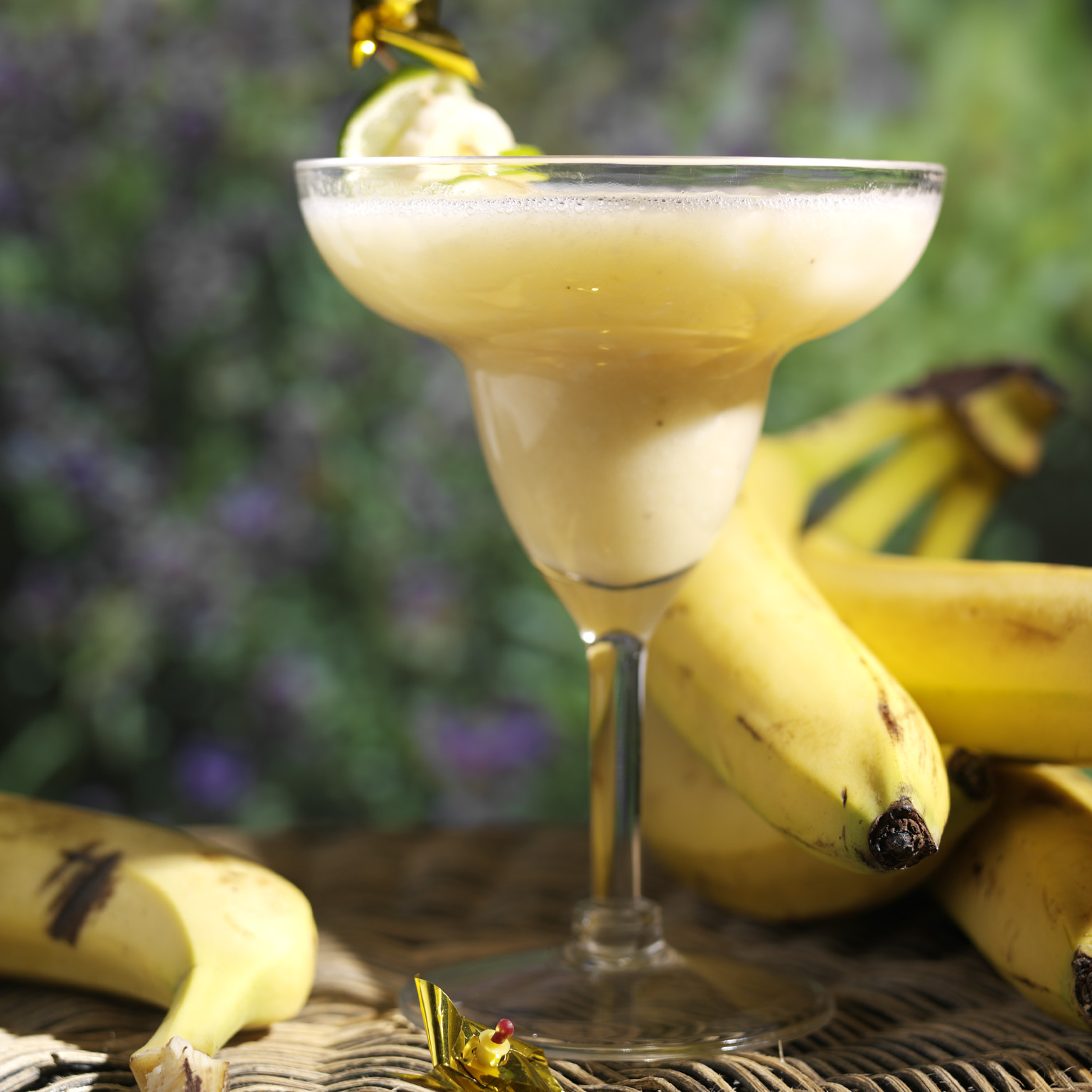 Дайкири Фламбэ банановый