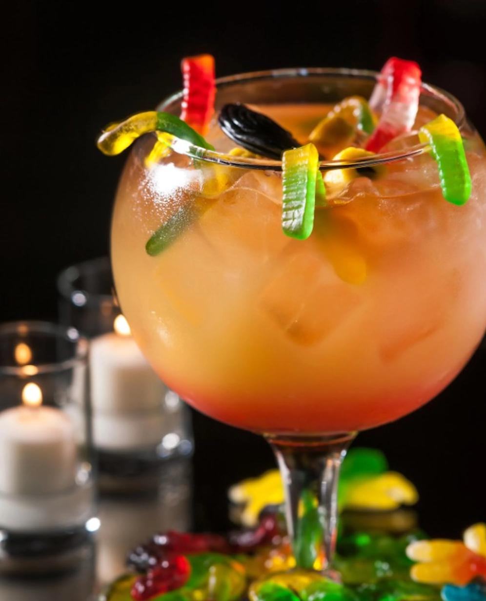 Коктейль Варево ведьмы (Halloween witches brew cocktail)