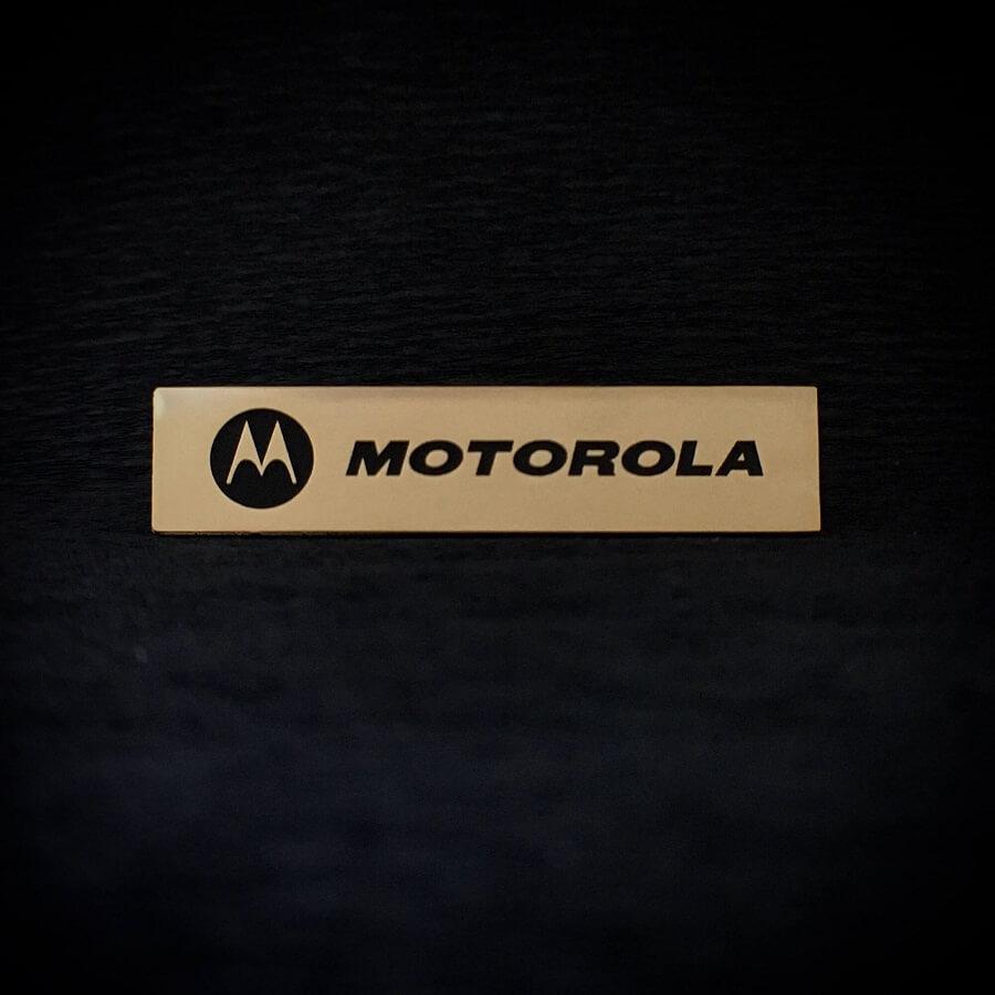 Шильд на заказ Motorola